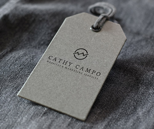 Denim Brand Label